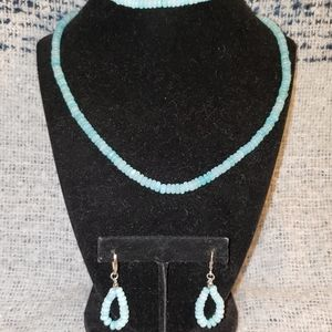 Jewelry - Genuine Opal Necklace Set